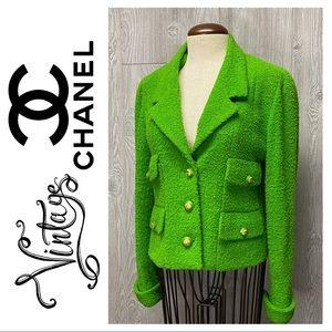 Chanel Boutique Vintage Bouclé Jacket